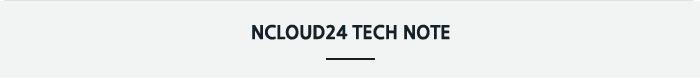 ncloud24 tech note