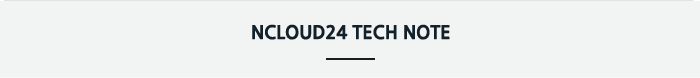 ncloud24 tech note