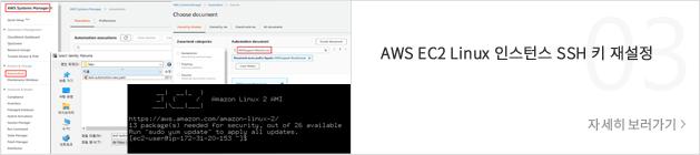 AWS EC2 Linux 인스턴트 SSH 키 재설정