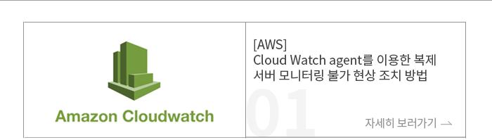 [AWS] Cloud Watch agent를 이용한 복제 서버 모니터링 불가 현상 조치 방법